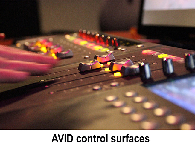 Avid control surfaces
